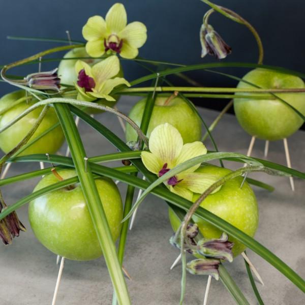 æbler på pind